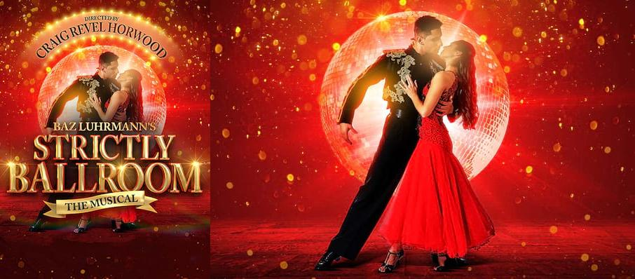 Strictly Ballroom at Kings Theatre Glasgow