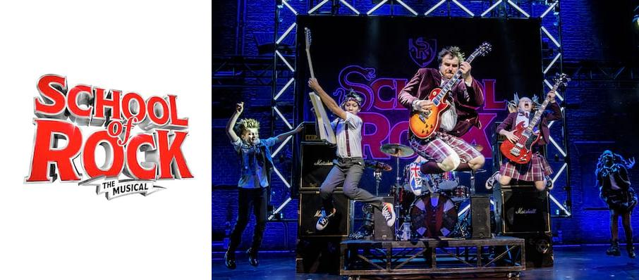 The School of Rock at Kings Theatre Glasgow