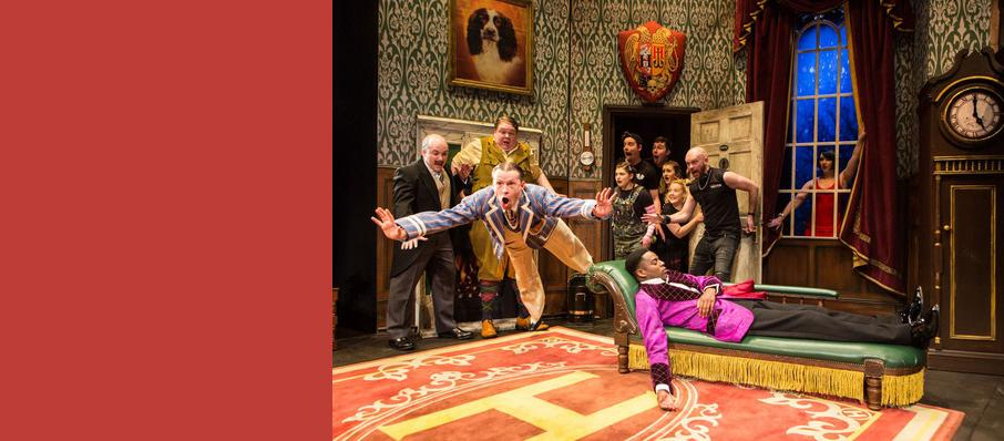 The Play That Goes Wrong, Duchess Theatre, Glasgow