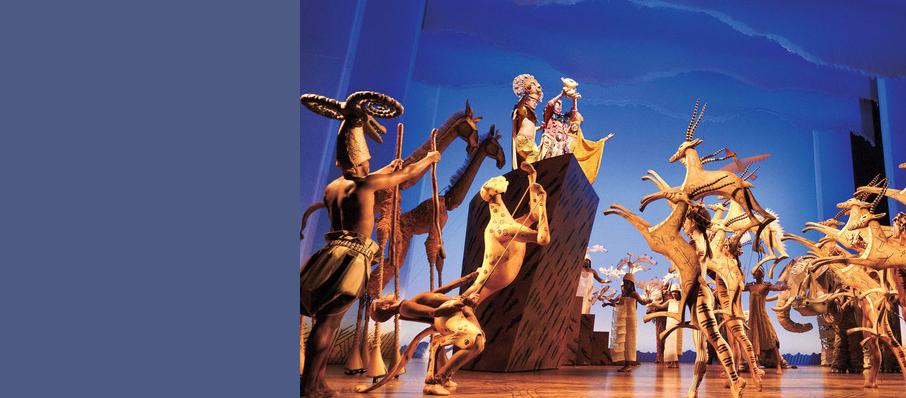 Lion King, Lyceum Theatre, Glasgow