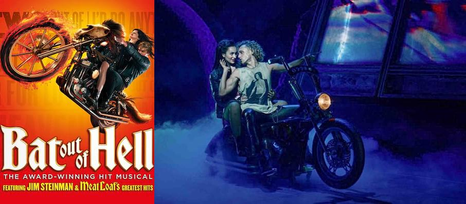 Bat Out Of Hell, New Wimbledon Theatre, Glasgow