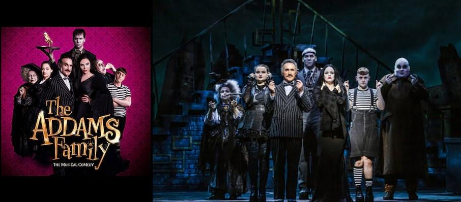 The Addams Family, New Wimbledon Theatre, Glasgow
